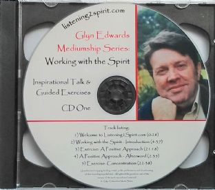 Glyn Edwards - Mediumship Series - Working with the Spirit (Double CD)